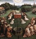 Eyck Jan van The Ghent Altarpiece Adoration of the Lamb