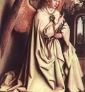 Eyck Jan van The Ghent Altarpiece Angel of the Annunciation