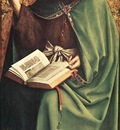 Eyck Jan van The Ghent Altarpiece St John the Baptist