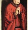 Eyck Jan van The Ghent Altarpiece The Donor