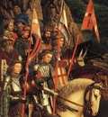 Eyck Jan van The Ghent Altarpiece The Soldiers of Christ