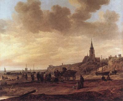 Goyen Jan van Beach at Scheveningen