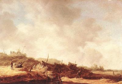 Goyen Jan van Landscape with Dunes
