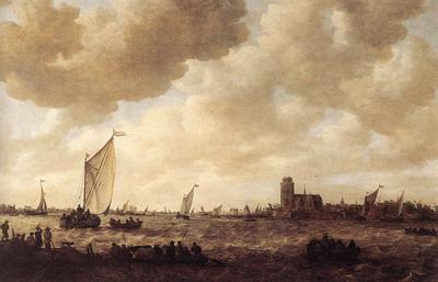 Goyen Jan van View of Dordrecht