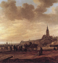 Goyen Jan van Beach at Scheveningen