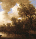 Goyen Jan van River Scene