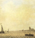 Goyen Jan van View of Dordrecht from the Oude Maas