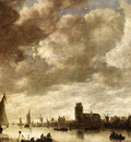 Goyen Jan van View of the Merwede before Dordrecht