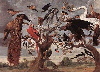 KESSEL Jan van The Mockery Of The Owl
