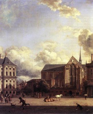 HEYDEN Jan van der Dam Square Amsterdam