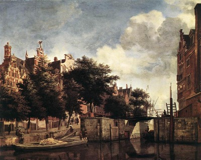 HEYDEN Jan van der The Martelaarsgracht In Amsterdam