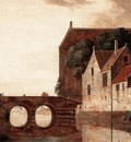 HEYDEN Jan van der View Of A Bridge