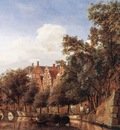 HEYDEN Jan van der View Of The Herengracht Amsterdam