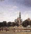 HEYDEN Jan van der View Of The Westerkerk Amsterdam