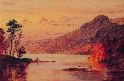 Lake Scene Catskill Mountains
