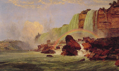 Niagara Falls with View of Clifton House