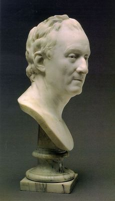 Bust of Denis Diderot CGF