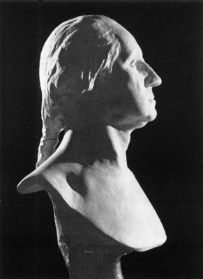 HOUDON Jean Antoine Bust of George Washington