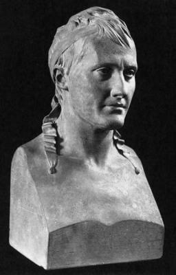 HOUDON Jean Antoine Bust of Napoleon