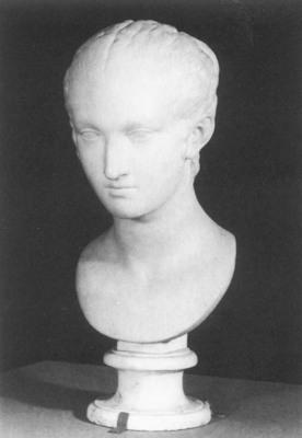 HOUDON Jean Antoine Peasant Girl of Frascati