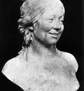 HOUDON Jean Antoine Bust of the Artists Wife