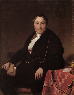 Ingres Jacques Louis Leblanc