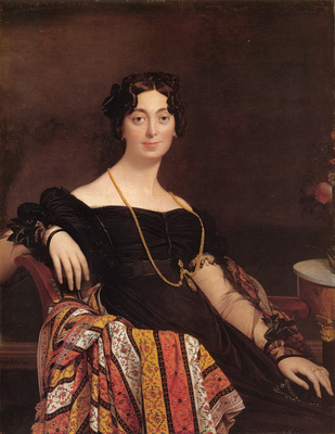 Ingres Madame Jacques Louis Leblanc