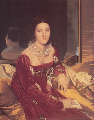 Ingres Madame de Senonnes