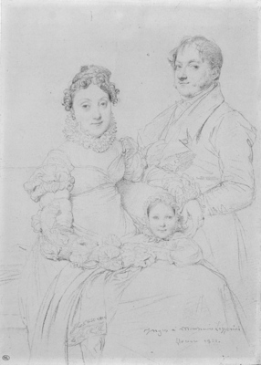 Ingres The Cosimo Andrea Lazzerini Family