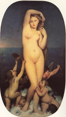 Ingres Venus Anadyomene