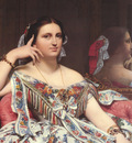 Ingres Madame Moitessier Seated detail