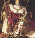 Ingres Napoleon I on His Imperial Throne