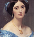 Ingres Princess Albert de Broglie detail