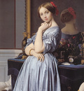 Ingres Vicomtesse Othenin d Haussonville