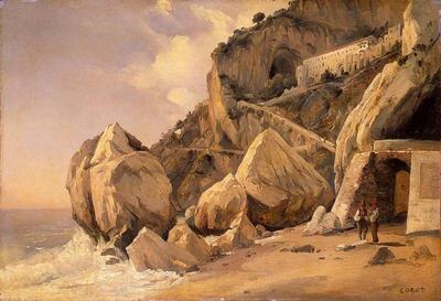 Corot Rocks in Amalfi
