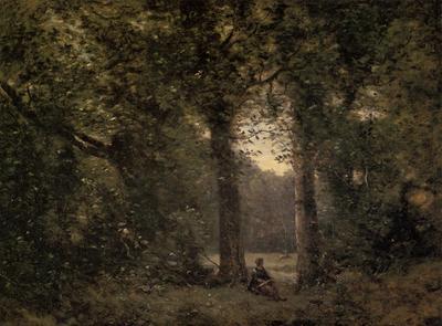Corot Souvenir of Ville d Avray