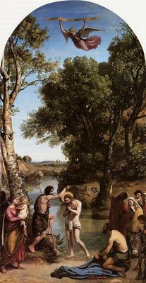 Corot The Baptism of Christ