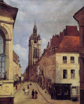 Corot The Belfry of Douai