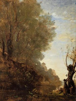 Corot The Happy Isle