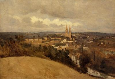 Corot View of Saint Lo