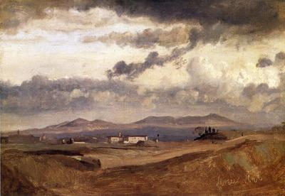 Corot View of the Roman Campagna