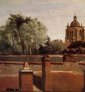 Corot Bell Tower of the Church of Saint Paterne at Orleans