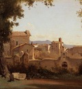 Corot Rome View from the Farnese Gardens Morning