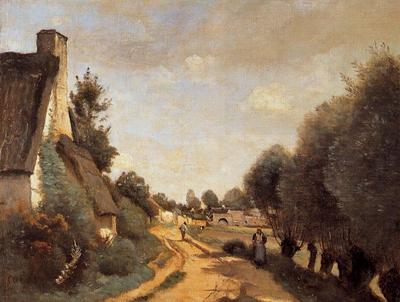 Corot A Road near Arras
