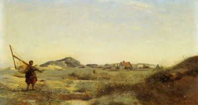 Corot Jean Baptiste Camille Dunkerque