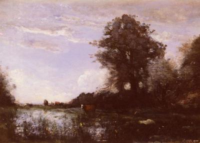 Corot Jean Baptiste Camille Marais De Cuicy,%20Pres%20Douai