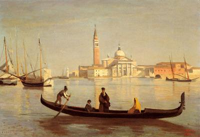 Corot Jean Baptiste Camille Venise