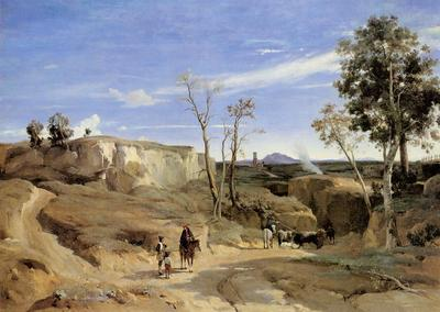Corot La Cervara the Roman Countryside