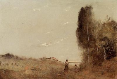 Corot Morning by the Water