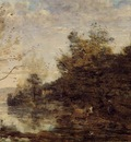 Corot Cowherd by the Water
